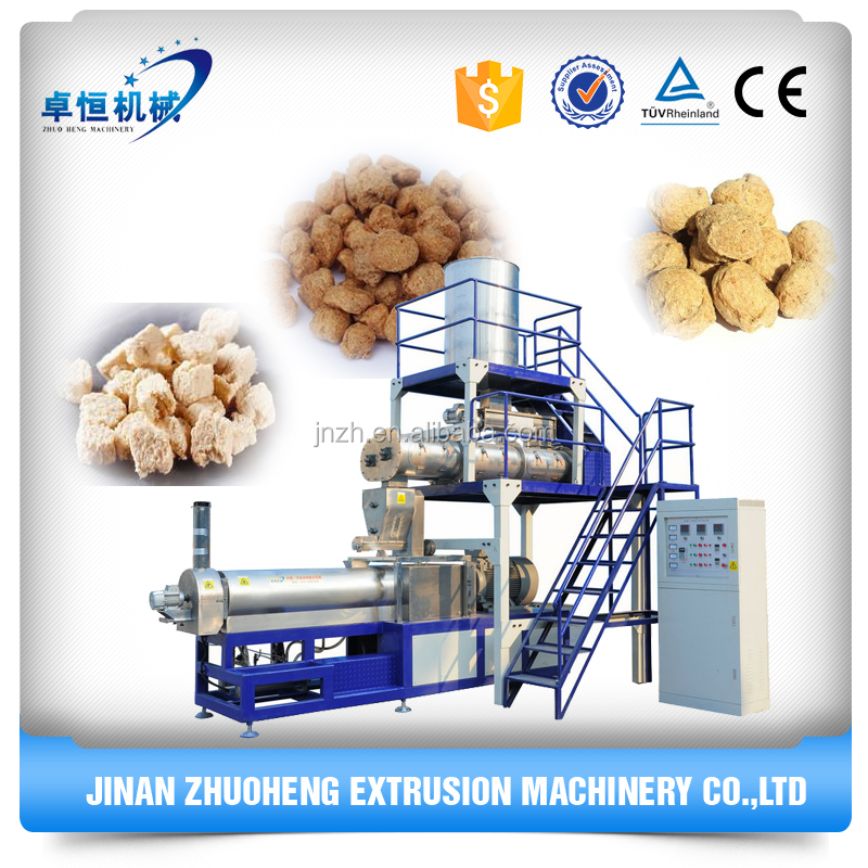 textured soy protein/artificial meat/textured vegetable protein machine with CE and ISO certificated
