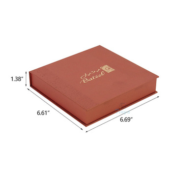 divided cardboard book shape packaging boxes chocolates