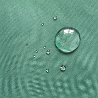 DTY waterproof polyester oxford 450d x 300d tent fabric coating 2x PU 6000mm WR