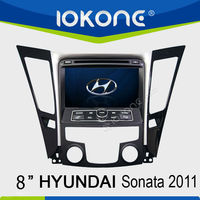 In dash Double din 3G function for Hyundai Sonata/I40/I45/I50 2011 Car Multimedia GPS navigation