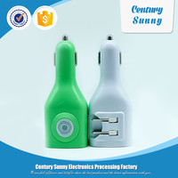 Newest Product Hot Selling Portable Home And Car Charger For Mobile Phone Dual usb