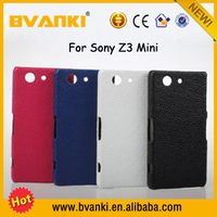 New Products For Sublimation Manufacturers Bulk Clear Phone Cases For Sony Xperia Z3 Mini Genuine Leather Phone Cover