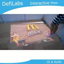 DEFI interactive floor Projection system