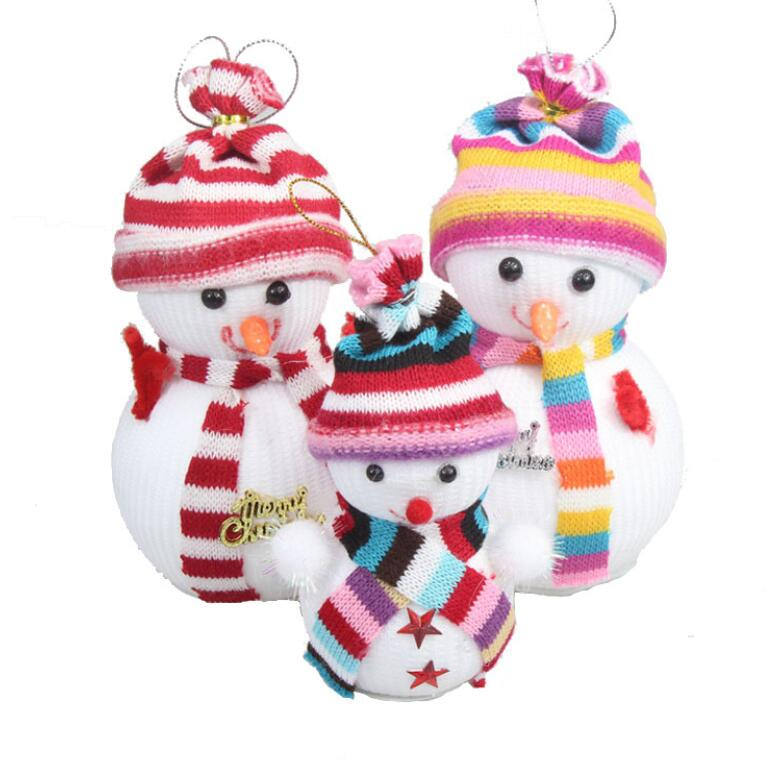 2017 Christmas tree decorations small hanging toy