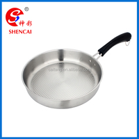 Kitchen accessories Stainless steel Frying pan as seen on Tv/ Boiling pan