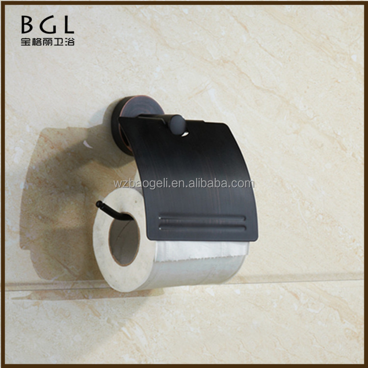 Modern design Bathroom fittings Zinc alloy ORB Name of toilet accessories Paper roll holder
