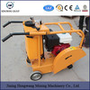 HW-450 walk behind floor road used cutting saw machine concrete cutter with famous brand gasoline engine