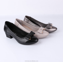 spanish style leather shoes for women cheap girl sliver shoes made in china