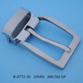 Promotional men alloy 30MM metal belt clip buckle jean's buckle for garment accessory