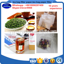 Hot sell nylon empty tea bags with string and tag