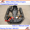 Manual or Automatic Gears 2015 EEC/COC for Europe market newest F1 Circuit Racing Go Kart 250cc 500cc bigger engine