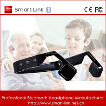 bone conduction bluetooth headphone portable for outdoor sports
