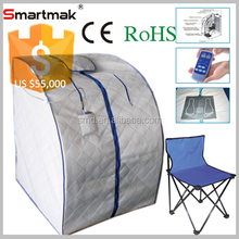 factory one person portable steam sauna room