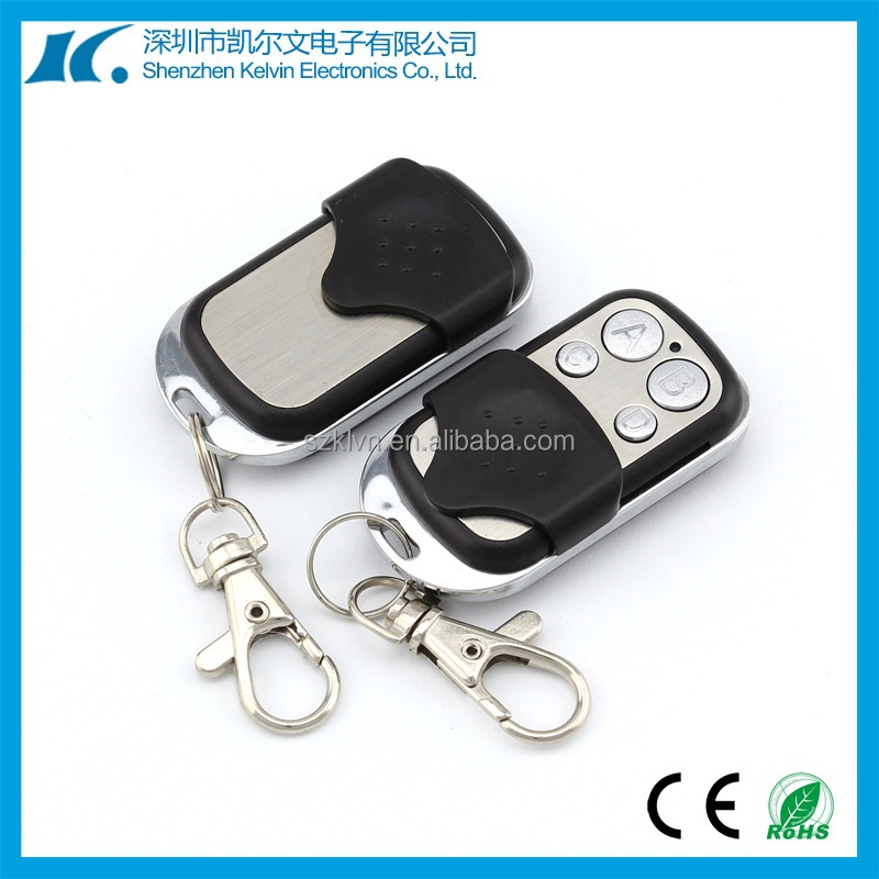4 keys Fixed code 315/433.92mhz universal remote control in pemo control KL180-4