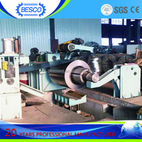 Simple steel rolled coil uncoiler machine manual uncoiler