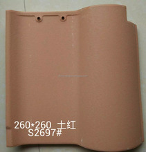 Matte Clay Roof Tile in Spainish Style