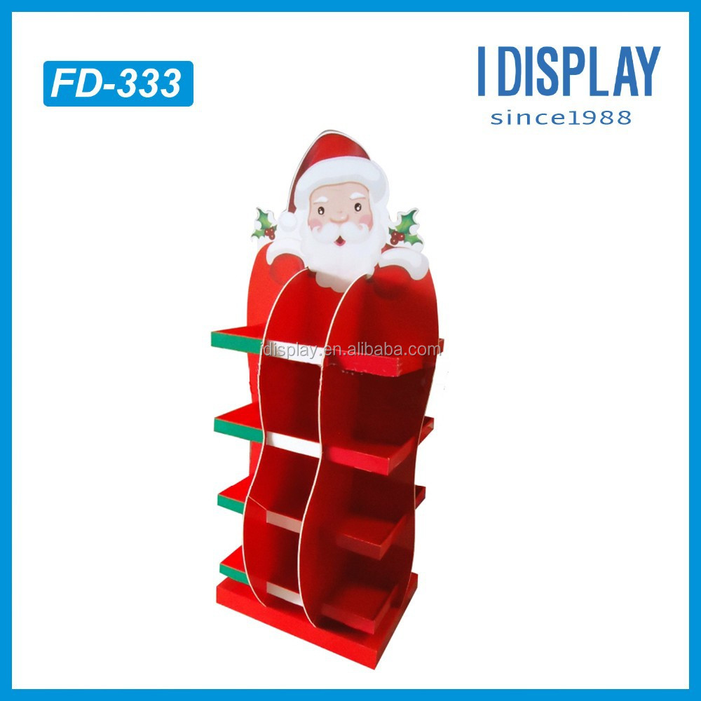 Christmas Toys Product : Christmas toys and candy paper cardboard display for