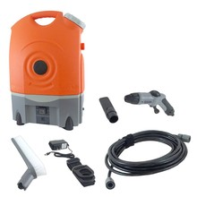 12V portable Truck Washing Equipment with pressure gun for Carpet Washing, Caravan Cleaning Tool