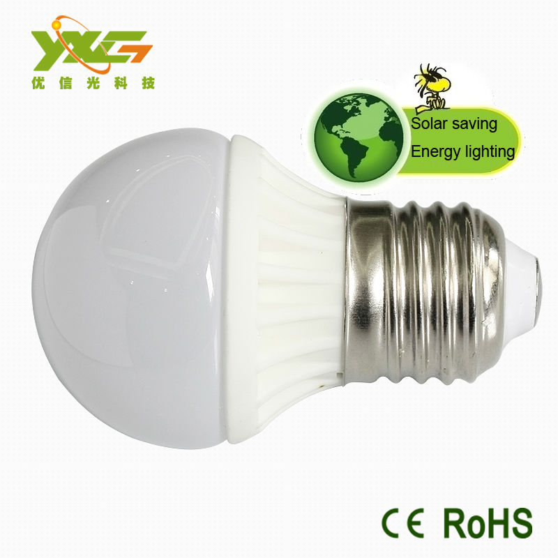 3W Ceramic bulb, 270lm, SMD chip,12V solar led lamp