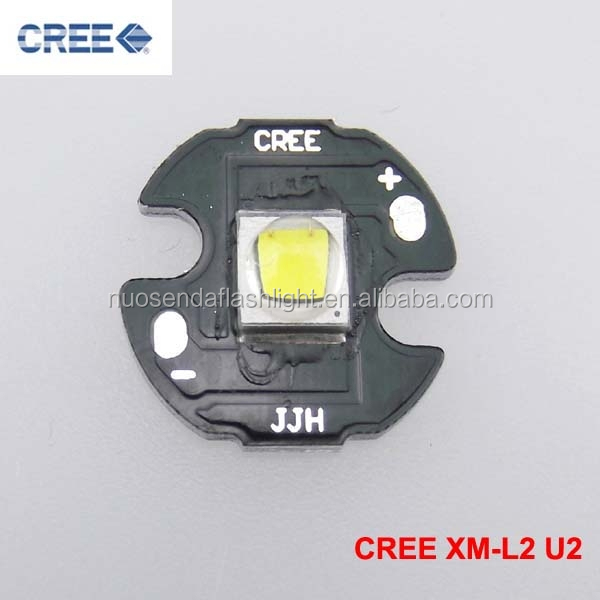 1xCREE XM-L2 <strong>U2</strong> Cool White LED Emitter with 16mm Aluminum Heating Star