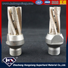 diamond finger bit, glass cutting, 1/2 gas+80mm length+3/4/5 tooth +cooling hole