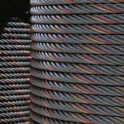 Steel Wire Rope Made Of Ungalvanized Used For Elevator Crane Lifting And Hanging Basket