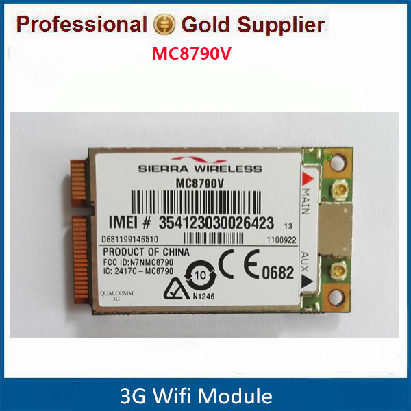 Sierra MC8790V 2G 3G GPS WWAN Mini PCIe Card