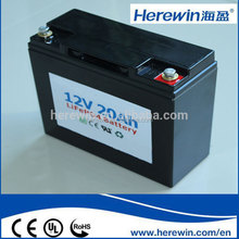 Lithium battery pack 12v 20ah automobile batteries battery with standard BMS