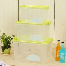 Hot Selling Lidded Plastic Storage Case