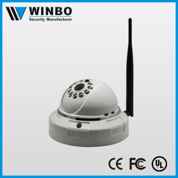 Battery operated wireless outdoor surveillance camera