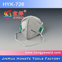 new design colorful valve dust mask super quality