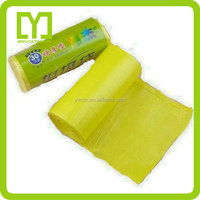 Beautiful super quality wholesale yellow garbage bags on roll