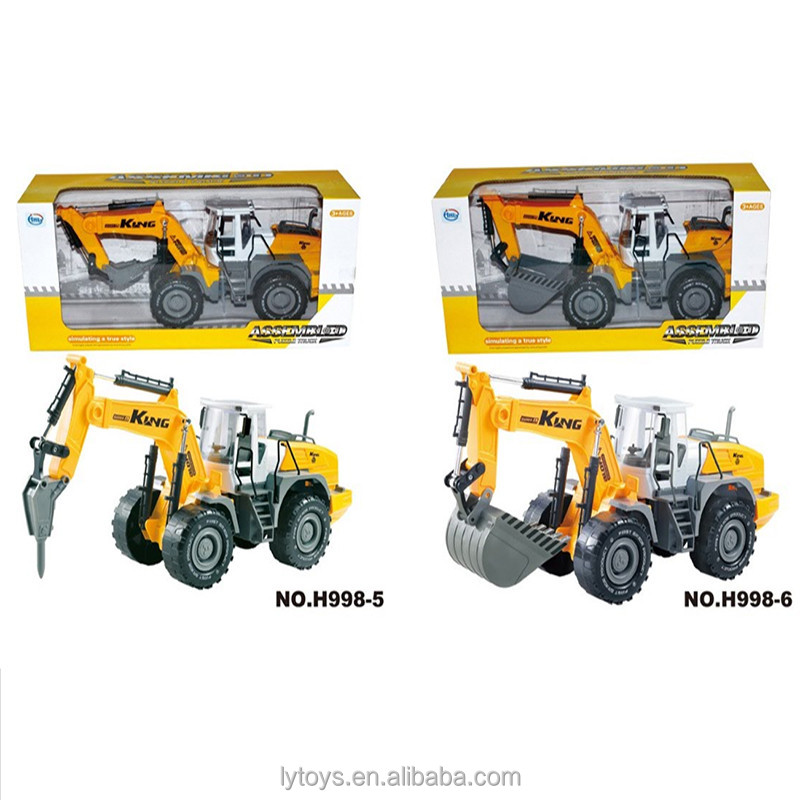 High Quality Big Diecast Metal Heavy Truck <strong>Model</strong> Toys Kids Excavator