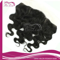 New Cheap Virgin Brazilian Human Hair Silk Top Lace Frontals With Baby Hair
