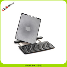 2016 New for Apple High Quality 360 Rotating Swivel Wireless Bluetooth Keyboard Case For iPad Air 2