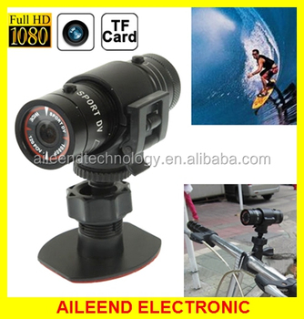 Full HD 1080P Action Helmet Camera Sports Camera / Bicycle Camera