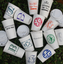 Single Wall Paper Cup Manufacturer 6oz/7oz/8oz/12oz White Take Away PE Coated Party Paper Cup China Disposable Cup Blank/Printin