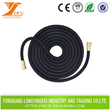 New vinyl hose with Aluminium fittings lastic retractable 2 inch irrigation garden hose