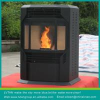 biomass pellet stove & fireplaced