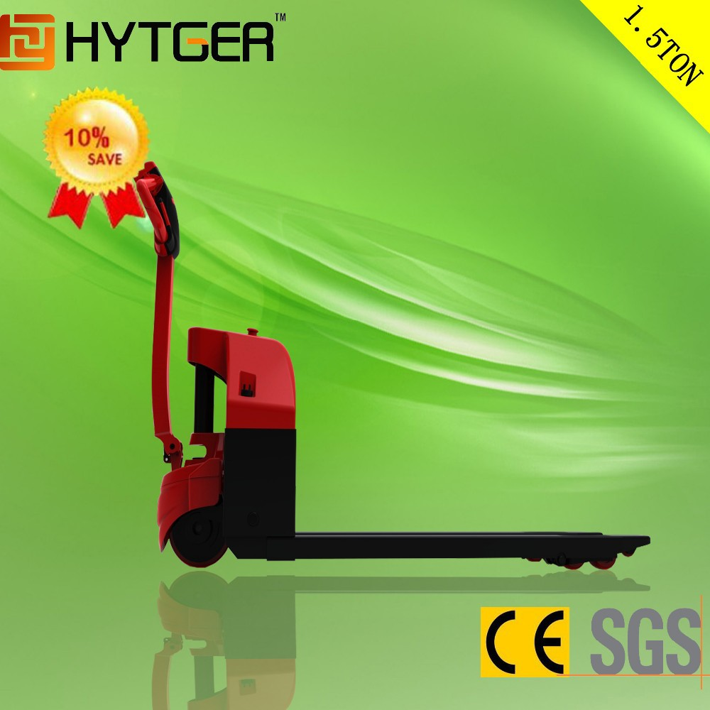 China 1.3 Ton Electric Pallet Truck/Hydraulic Pallet Jacks for sale with high quality and best price