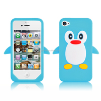 Wholesale cute cartoon design silicone gel case/ cover for iPhone 4s/5/ Samsung