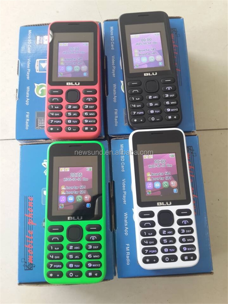 cheapest unlocked wholesale blu cell phones dual sim whatsapp facebook GSM oem mobile phone manufacturers
