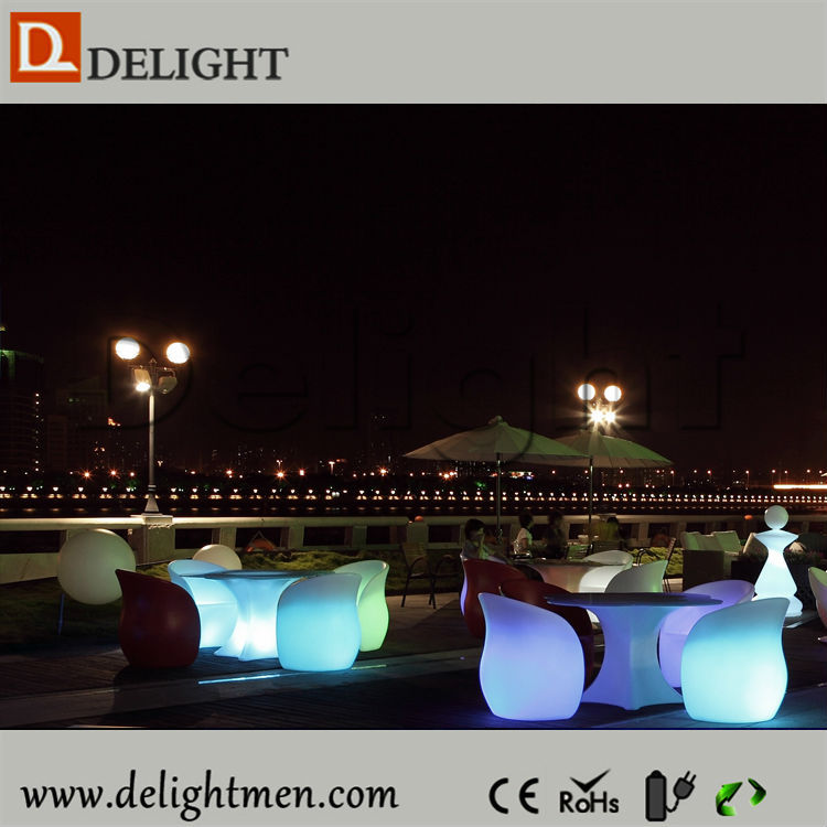 High Quality Outdoor Waterproof Remote Control Multicolor LED Floor Lamp Glowing Water Drop Lamp