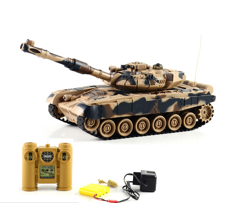 Remote Control Battle Tank Model High Simulation Tank Remote Control Charging Toys