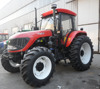 Factory Supplier 130hp 4wd tractor with front end loader and backhoe
