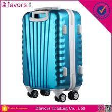 Manufacture price luggage shell pp abs pc suitcase carry on suitcase for business plastic hard luggage case multiple colors
