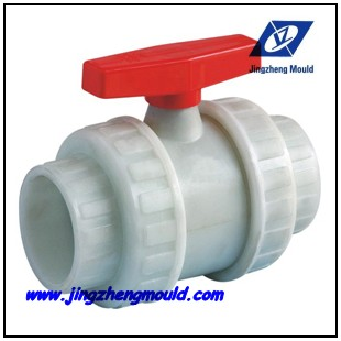 PVC ball valve mould design