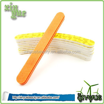 high quality mini nail file eva nail file korean material round nail file