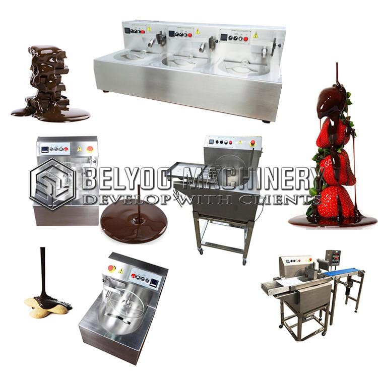 chocolate syrup coating machine