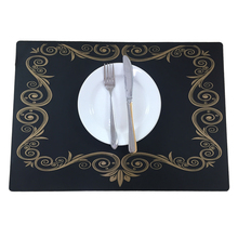 YK002b Customized Anti-Slip Heatproof Newest Silicone Dining Table Mat Manufacturer From China